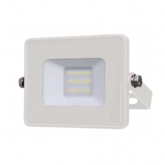лед прожектор, бял, 10w, топла светлина, samsung чип, 3000k, 800lm, 427