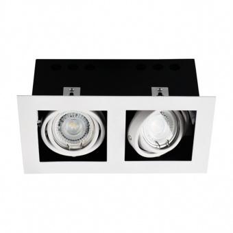 метална двойна луна, white, kanlux, meril dlp-250-w, 2x35w, 26481