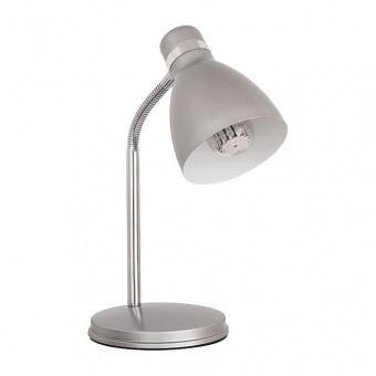 метална работна лампа, silver, kanlux, zara hr-40-sr, 1x40w, 07560