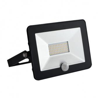 led прожектор със сензор, black, kanlux, grun, led 20w, 4000k, 1400lm, 30325