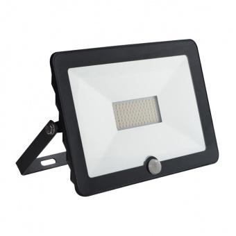 led прожектор със сензор, black, kanlux, grun, led 50w, 4000k, 3500lm, 30327