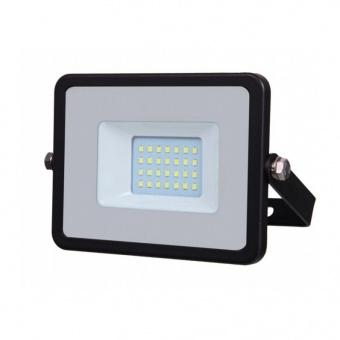 лед прожектор, черен, 20w, бяла светлина, samsung чип, 4000k, 1600lm, 440
