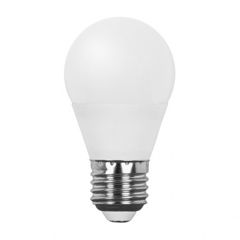 led лампа 7w, e27, бяла светлина, ultralux, 4200k, 600lm, lbg72742