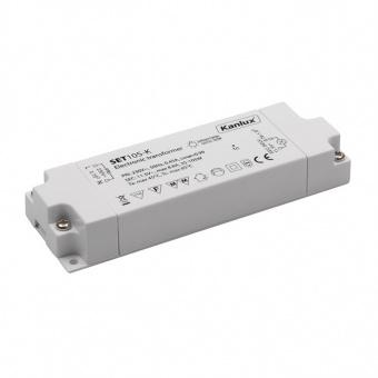 електронен трансформатор, 35-105w, 12v, 8.8a, kanlux, set105, 01426