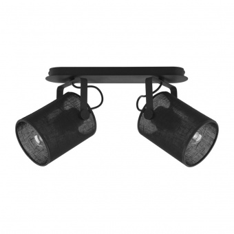метален спот, black, tk lighting, relax new, 2x60w, 2129