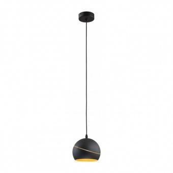 метален пендел, black, tk lighting, yoda black orbit, 1x60w, 2080