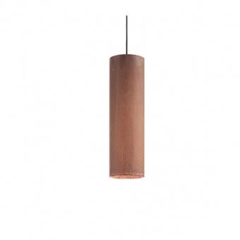 метален пендел, corten, ideal lux, look sp1 small, 1x28w, 2700k, 170589