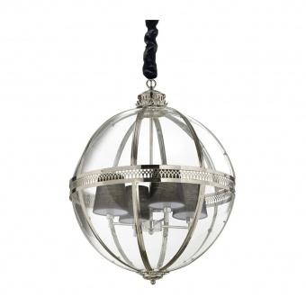 стъклен полилей, brunito, ideal lux, world sp4, 4x40w, 156330