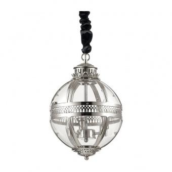 стъклен полилей, cromo, ideal lux, world sp3, 3x40w, 156323