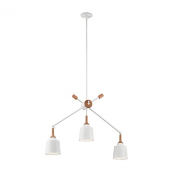 метален полилей, white, elstead lighting, danika, 3x60w, kl/danika3