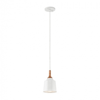 метален пендел, white, elstead lighting, danika, 1x60w, kl/danika/mp