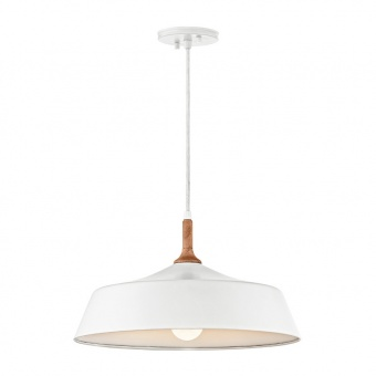 метален пендел, white, elstead lighting, danika, 1x100w, kl/danika/p