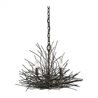 метален полилей, olde bronze, elstead lighting, organique, 3x60w, kl/organique3