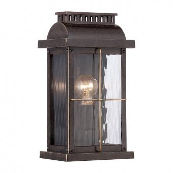 метално градинско тяло, imperial bronze, elstead lighting, cortland, 1x60w, qz/cortland/s