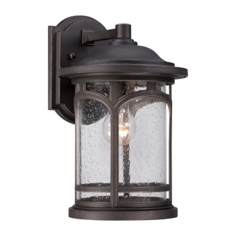 метално градинско тяло, palladian bronze, elstead lighting, marblehead, 1x75w, qz/marblehead2/m