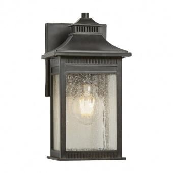 метално градинско тяло, imperial bronze, elstead lighting, livingston, 1x60w, qz/livingston2/s
