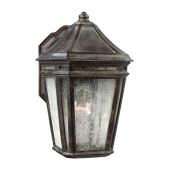 метално градинско тяло, weathered chestnut, elstead lighting, londontowne, 1x75w, fe/londontowne