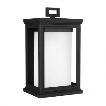 метално градинско тяло, textured black, elstead lighting, roscoe, 1x75w, fe/roscoe/m
