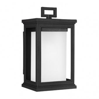 метално градинско тяло, textured black, elstead lighting, roscoe, 1x60w, fe/roscoe/s