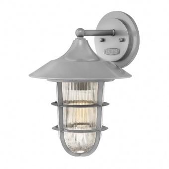 метално градинско тяло, hematite, elstead lighting, marina, 1x100w, hk/marina2/m