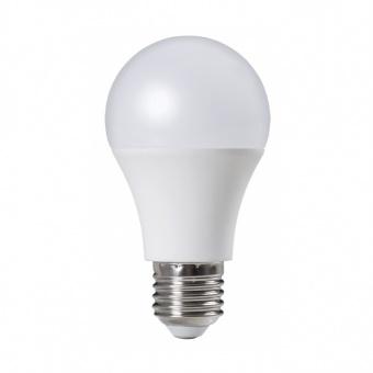 led лампа 10w, e27, топла светлина, ultralux, 2700k, 850lm, lbg102727
