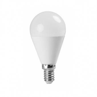 led лампа 7w, e14, топла светлина, ultralux, 2700k, 620lm, lbg71427