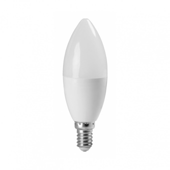 led лампа 7w, e14, топла светлина, ultralux, 2700k, 600lm, lc71427