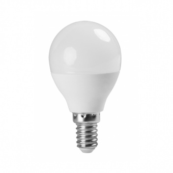 led лампа 5w, e14, топла светлина, ultralux, 2700k, 460lm, lbg51427