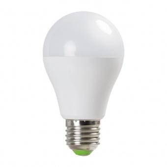 led лампа с фото сензор  6w, e27, бяла светлина, ultralux, 4200k, 560lm, lbfs62742