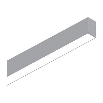 линейно осветително тяло, 1805mm aluminium, ideal lux, fluo wide, led 36w, 3000k, 3800lm, 192536