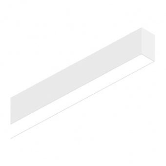 линейно осветително тяло, white, ideal lux, fluo bi-emission, led 26+13w, 3000k, 2800+1900lm, 192666