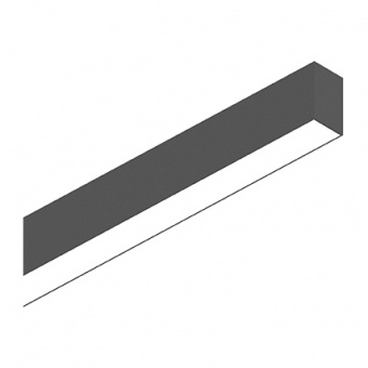 линейно осветително тяло, black, ideal lux, fluo bi-emission, led 26+13w, 3000k, 2800+1900lm, 192710