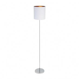 метален лампион, white/gold/chrome, rabalux, monica, 1x60w, 2529