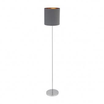 метален лампион, grey/gold/chrome, rabalux, monica, 1x60w, 2539