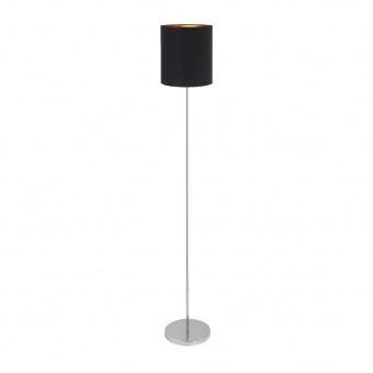 метален лампион, black/gold/chrome, rabalux, monica, 1x60w, 2524