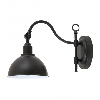 метален аплик, matte black, rabalux, marc, 1x25w, 2273