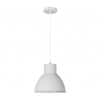 метален пендел, matte white, rabalux, derek, 1x60w, 2577
