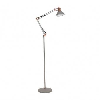 метален лампион, grey/copper, rabalux, gareth, 1x40w, 4524