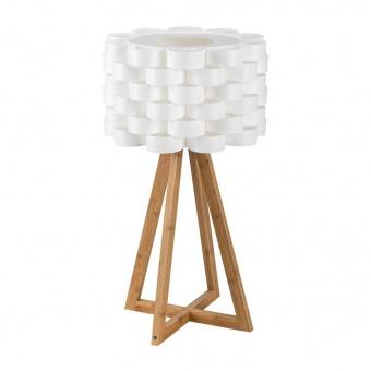 дървена настолна лампа, white, rabalux, andy, 1x40w, 4345
