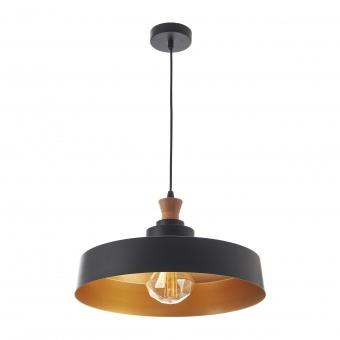 метален пендел, черен, elbulgaria, 1x40w, 1573 bk