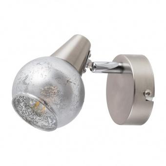 метален спот, satin chrome/silver, rabalux, noelle, 1x25w, 5925