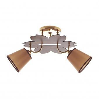 метален полилей, злато, elbulgaria, 2x40w, 1516/2