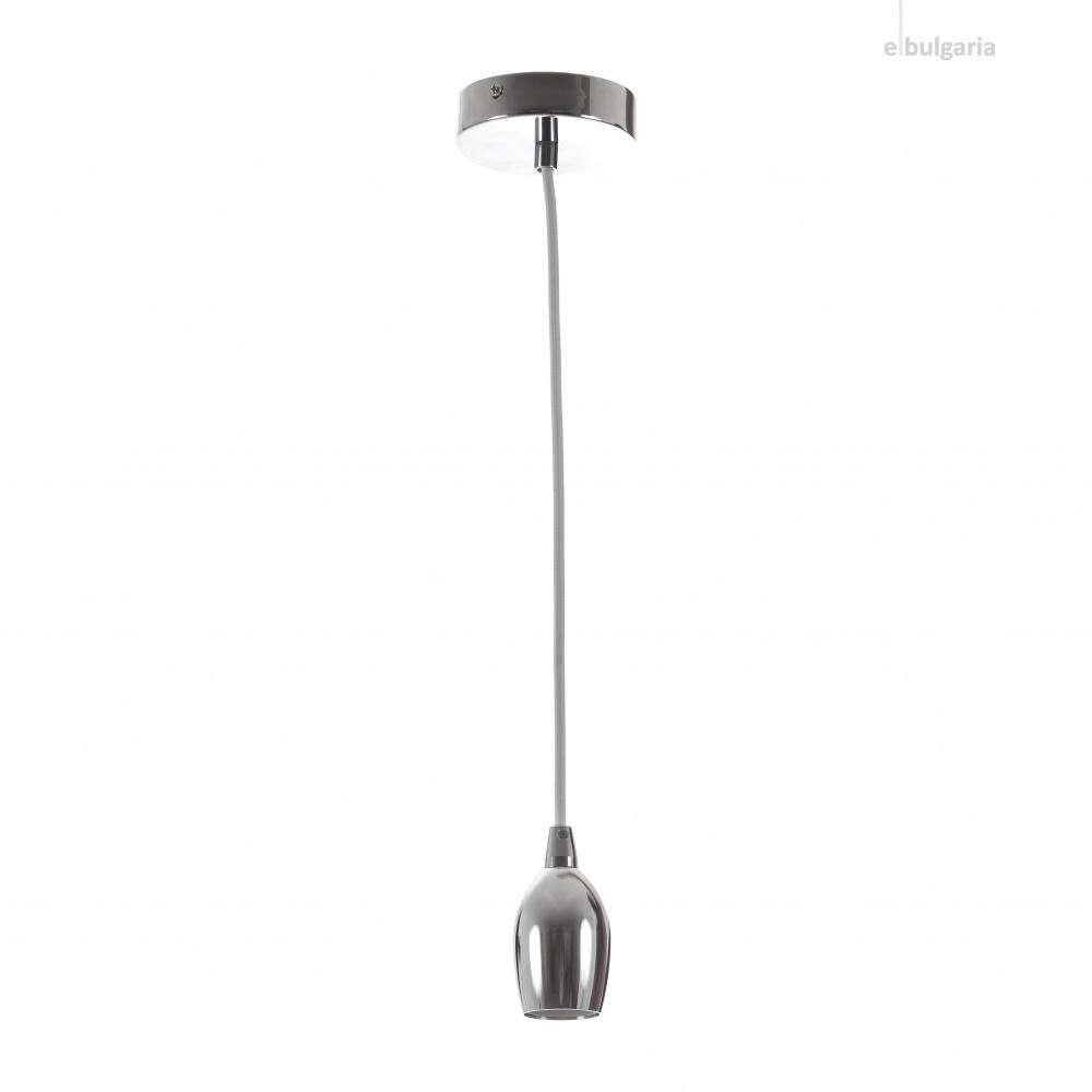метален пендел, хром, elbulgaria, 1x40w, 1588 ch