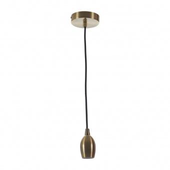 метален пендел, бронз, elbulgaria, 1x40w, 1588 bz
