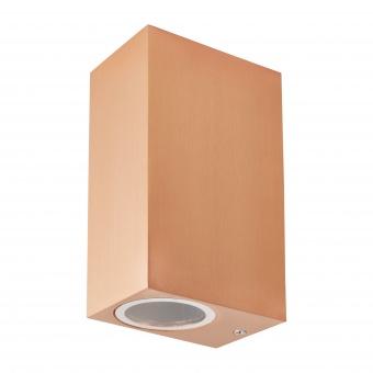 метален градински аплик, мед, elbulgaria, 2x40w, 1497 snr