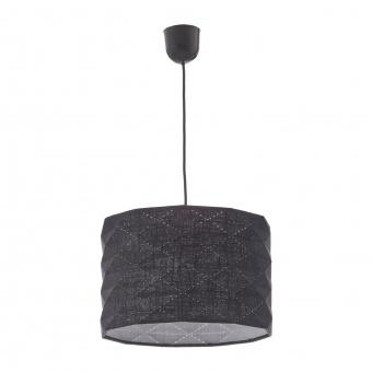 текстилен пендел, черен, elbulgaria, 1x40w, 1584m bk