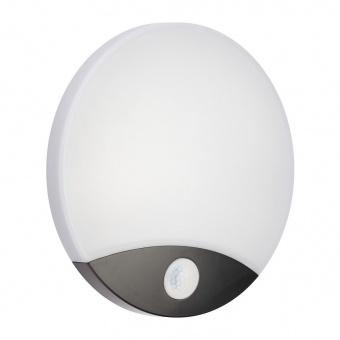 аплик със сензор, black, lima, led 10w, 4000k, 750lm, бяла светлина,3887