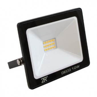 led метален прожектор, черен, deco, led 10w, 2700k, 1000lm, deco black