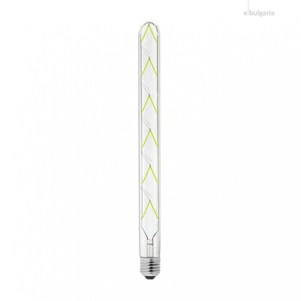 led лампа 12w, e27, green, 1080lm, 300°, 600mm, led lamp filament 12w t30