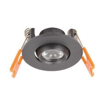 led мебелна луна, black, angel eye, led 3w, 4000k, 300lm, angel eye r03, 87026